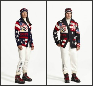 2014 Olympics American Flag outfits