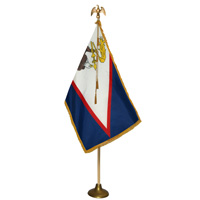 American Samoa Flag Parade Sets