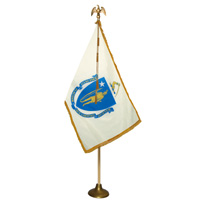Massachusetts State Flag Parade Sets
