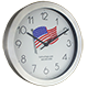 Collins Flags Clock