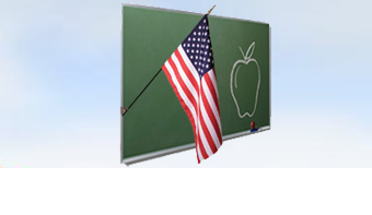Indoor / Classroom US Flags
