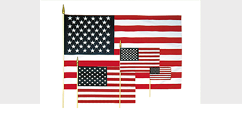 Stick Flags for Memorial Markers