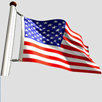 Nylon Outdoor Flags